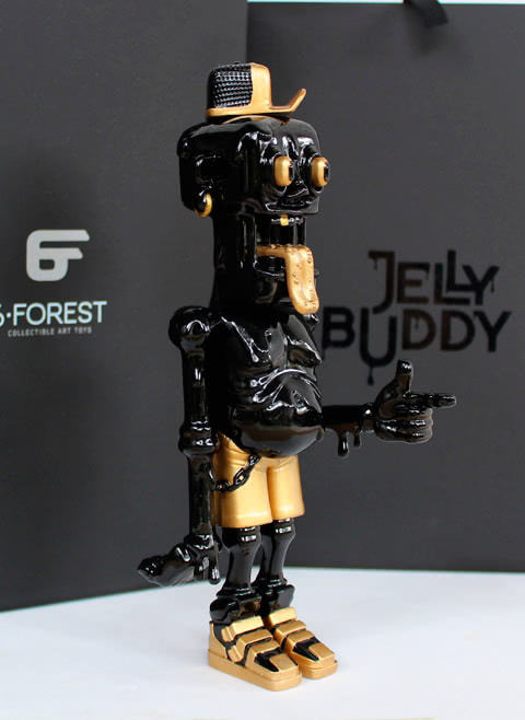 Jelly Buddy Black & Gold