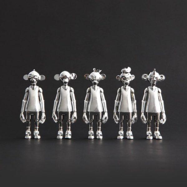 Dunkeys silver - Coolrain / Grafflex / Seman10cm