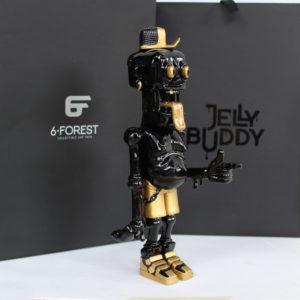 Jelly Buddy - Black & Gold
